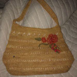 Handbags - Anthropology appliqué purse